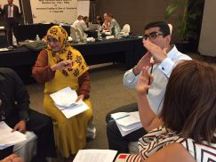Research Associates support efforts to create transitional justice mechanisms in the Middle East and North Africa.