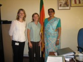 Alumni in Sri Lanka with the with the Secretariat of the Ministry of Consitutional Affairs