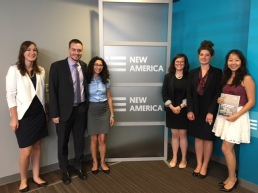 Research Associates head downtown for events at think tanks and other institutions.