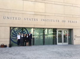 Our Research Associates go to events all around DC.