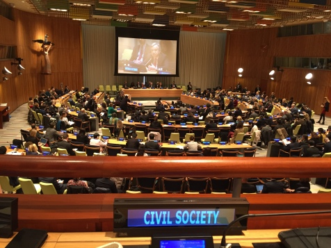 Research Associates joined the civil society process for selecting a new UNSG in 2016.