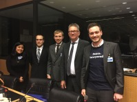 Lawyering Peace Research Associates with the Chairman of UNCAT